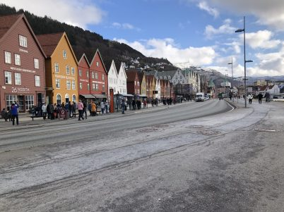 Bergen, Norway last week in February 2020@Joaquin Ketlun