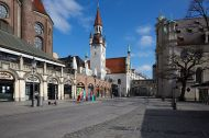 The old Town Hall, Munich, Germany, March 25, 2020 @helenaheilig.de