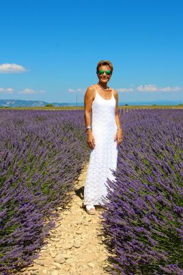 Celina in the lavender fields, July 12, 2020 @Zsolt Lavotha