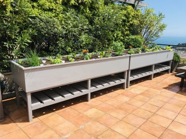 Vegetable container on the roof top of a building in Monaco @TDM
