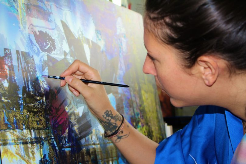Fiona Tan at work @CelinaLafuentedeLavotha