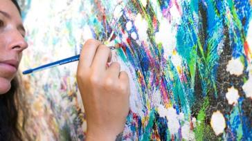 Handpainting @ Fiona Tan